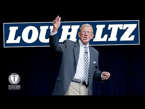 Distinguished Speaker - Lou Holtz
