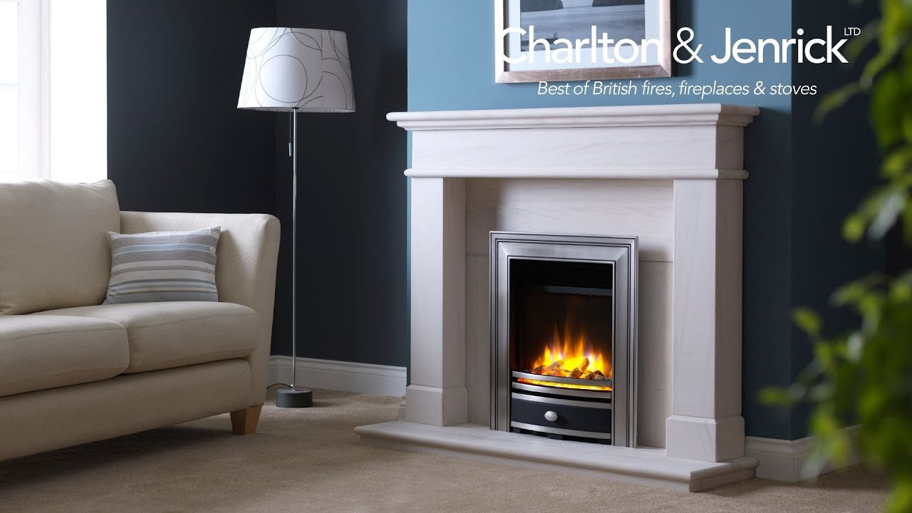 infinity 480 electric fire. ecoflame 3d 16\u201d electric fire shown with logs in chrome elite fascia infinity 480