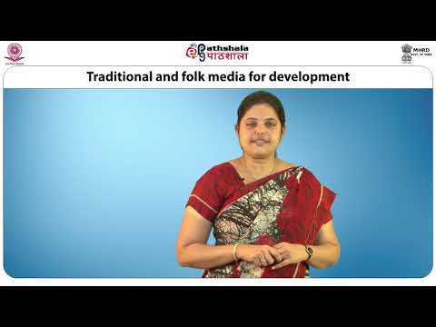 Traditional And Folk Media For Development