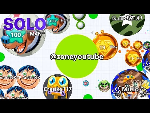 AGAR.IO MOBILE SOLO TAKEOVER AGAINST MACRO HACKERS! thumbnail