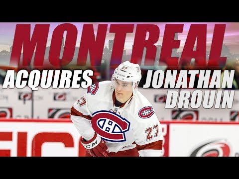 Montreal Canadiens Acquire Jonathan Drouin