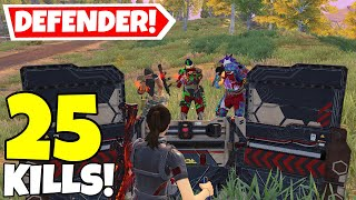 TROLLING SQUADS WITH TΗE DEFENDER CLASS IN CALL OF DUTY MOBILE BATTLE ROYALE!