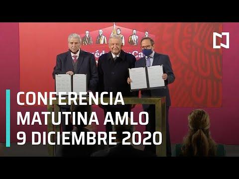 Conferencia matutina AMLO / 9 de diciembre 2020
