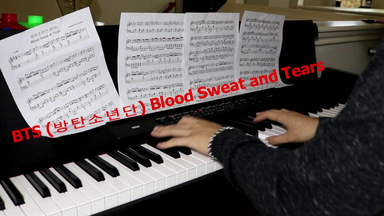 blood.sweat and tears piano music pdf