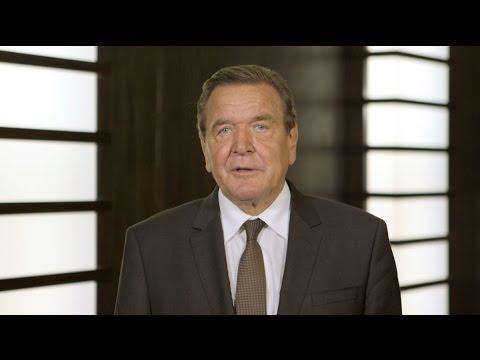 Meine Stimme für Vernunft: Gerhard Schröder