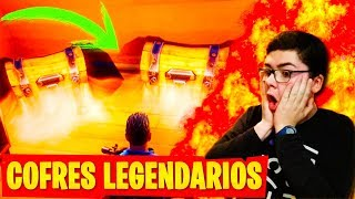 SECRET PLACE TO FIND LEGENDARY COFRES ? THE BEST LOOT IN FORTNITE: Battle Royale!!