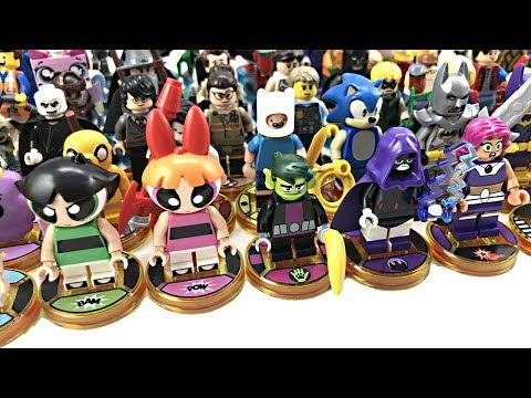 ALL LEGO Dimensions Characters EVER! (All 9 Waves, 2015 - 2017)