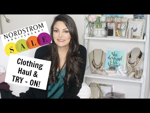 Nordstrom Anniversary Sale Haul & Try On!