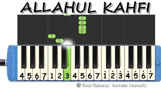 Download lagu Allahul Kahfi not pianika