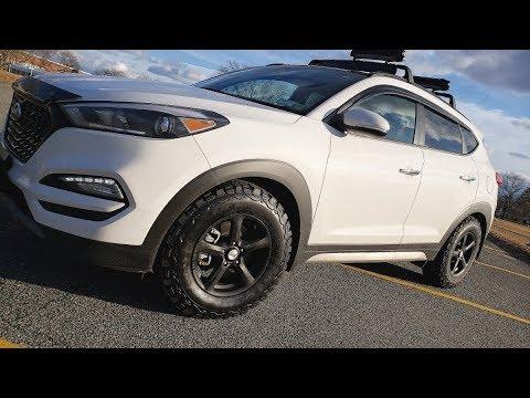 All Terrain Tires >> 2017 Hyundai Tucson - BFGoodrich KO2 Tire Review - Compact