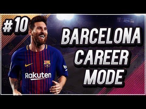 FIFA 18 Indonesia | Barcelona Career Mode #10 - Hasil Mengecewakan di Allianz Stadium.