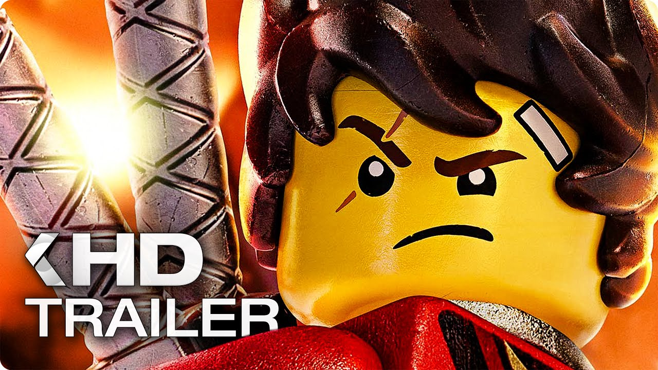 The Lego Ninjago Movie Trailer 2 German Deutsch 2017 Youtube