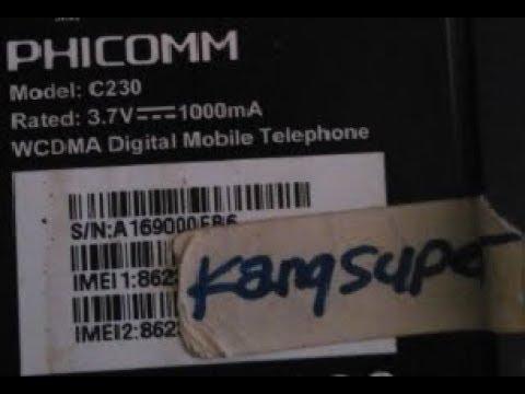 Cara Flash PHICOMM C230 Via 9008 CM2