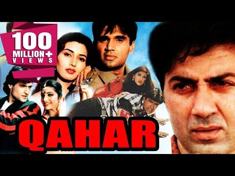 Qahar (1997) Full Hindi Action Movie | Sunny Deol, Sunil Shetty, Armaan Kohli, Sonali Bendre