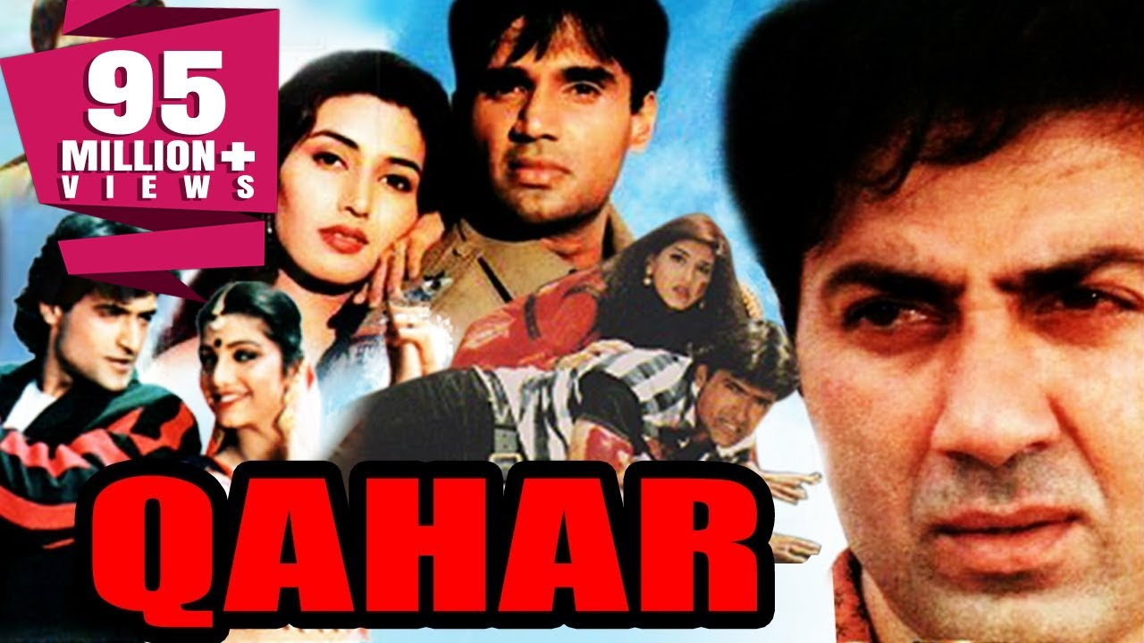 Qahar (1997) Full Hindi Action Movie | Sunny Deol, Sunil Shetty, Armaan Kohli, Sonali Bendre