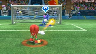 Mario and Sonic at The Rio 2016 Olympic Games #Football- Extra Hard -Team Peach Vs Team Knuckles