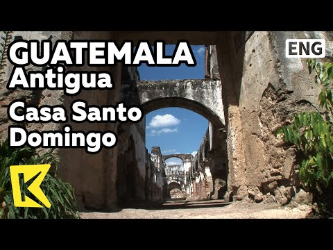 【K】Guatemala Travel-Antigua[과테말라 여행-안티구아]산토도밍고 수도원, 지진 희생자 무덤/Casa Santo Domingo/Monastery/Museum