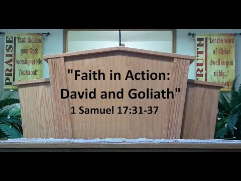 """Faith in Action: David and Goliath"""