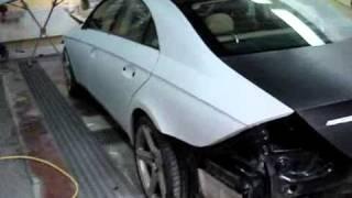 Mercedes CLS - Lakierowanie