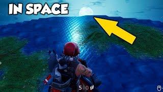 Comment aller à SPACE à Fortnite ... (Fortnite Glitches)