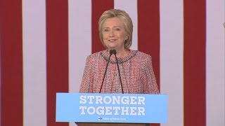 She's Back: Hillary Clinton Hits the Trail After Illness