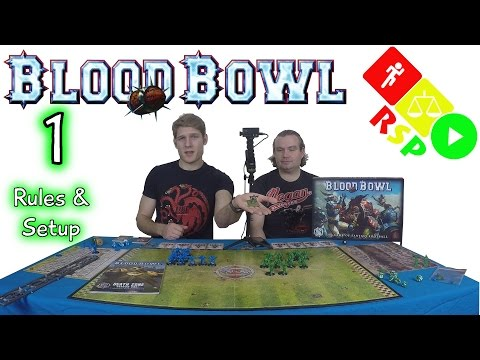 Blood Bowl Episode 1 Rules & Setup - Ready, Steady, Play