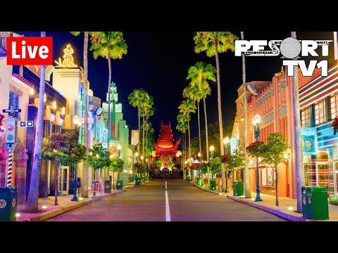 🔴Live: Disney's Hollywood Studios Wednesday Evening Fun In 1080p - Walt Disney World - 10-30-19
