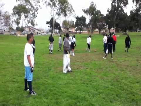 Columbus Park Flag Football Comedy Show 1/2/11 Part 2of2