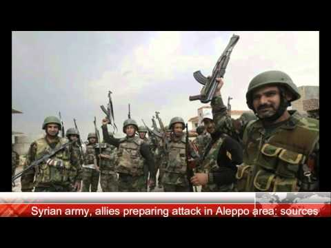 Breaking News! Syrian army, allies preparing attack in Aleppo area sources