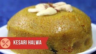 How to make kesari halwa or Rava Kesari halwa or Suji Kesari recipe
