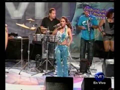 Samy y Sandra - El Cuco (en vivo) - Carnavales de Panamá Chitré 2010
