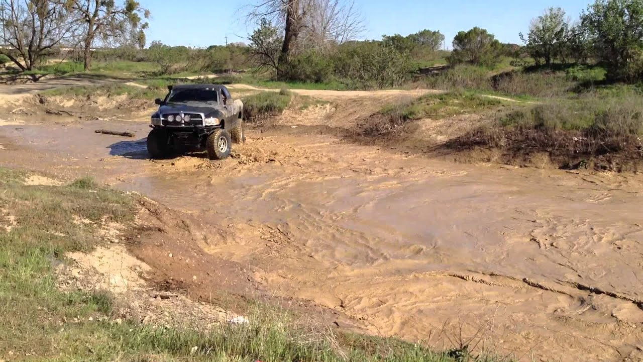 how to get mud out of hole