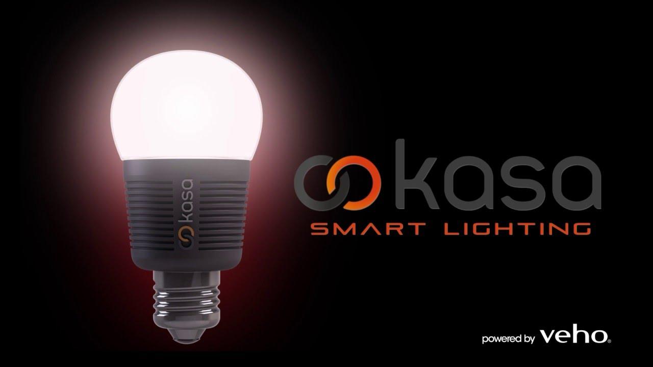 kasa smart home bluetooth low energy led lighting u2013 powered by veho youtube