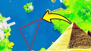 there is a PYRAMID under LOOT LAKE in Fortnite... | Chaos thumbnail