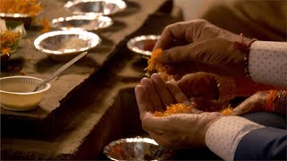 Hindu rituals performed at Indian wedding
