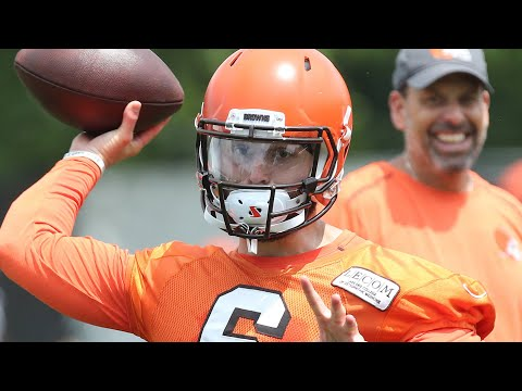 Todd Haley on Baker Mayfield, Tyrod Taylor and the Browns' QB room
