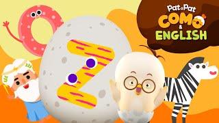 Como and English | Learn Alphabet_Z | Kids animation