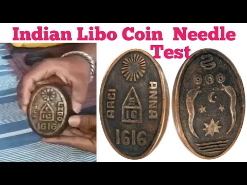 Libo coin 1616 needle test, || Ram seetha coin test,