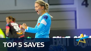 Top 5 saves | Round 2 | DELO WOMEN'S EHF Champions League 2019/20