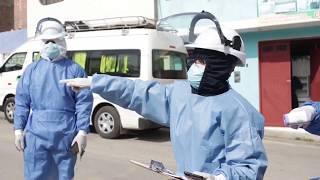 Equipo médico brinda apoyo con ambulancia y pruebas rápidas en el Valle Fortaleza