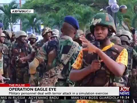 Operation Eagle Eye - The Pulse on JoyNews (5-6-18)