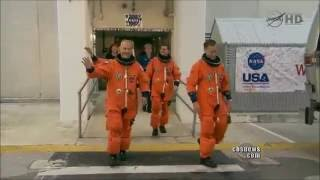 STS-135 Launch CBS News Coverage