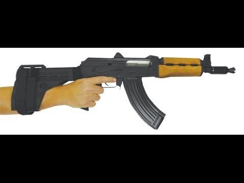 M92 PV PISTOL KRINKOV & SB-47 ARM BRACE AK Pistol