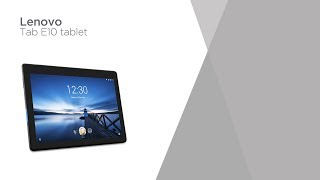 Lenovo Tab E10 Tablet - 32 GB, Black | Product Overview | Currys PC World