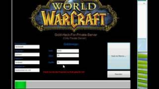 WoW Gold Hack for Private Server
