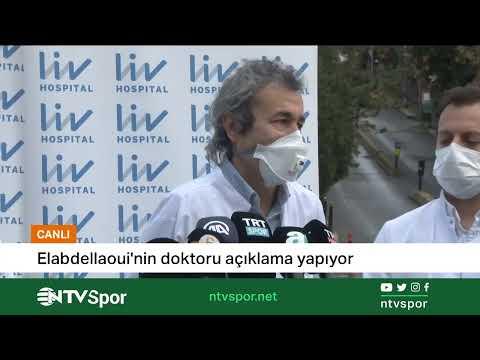 CANLI   Omar Elabdellaoui'nin doktoru açıklama yapıyor