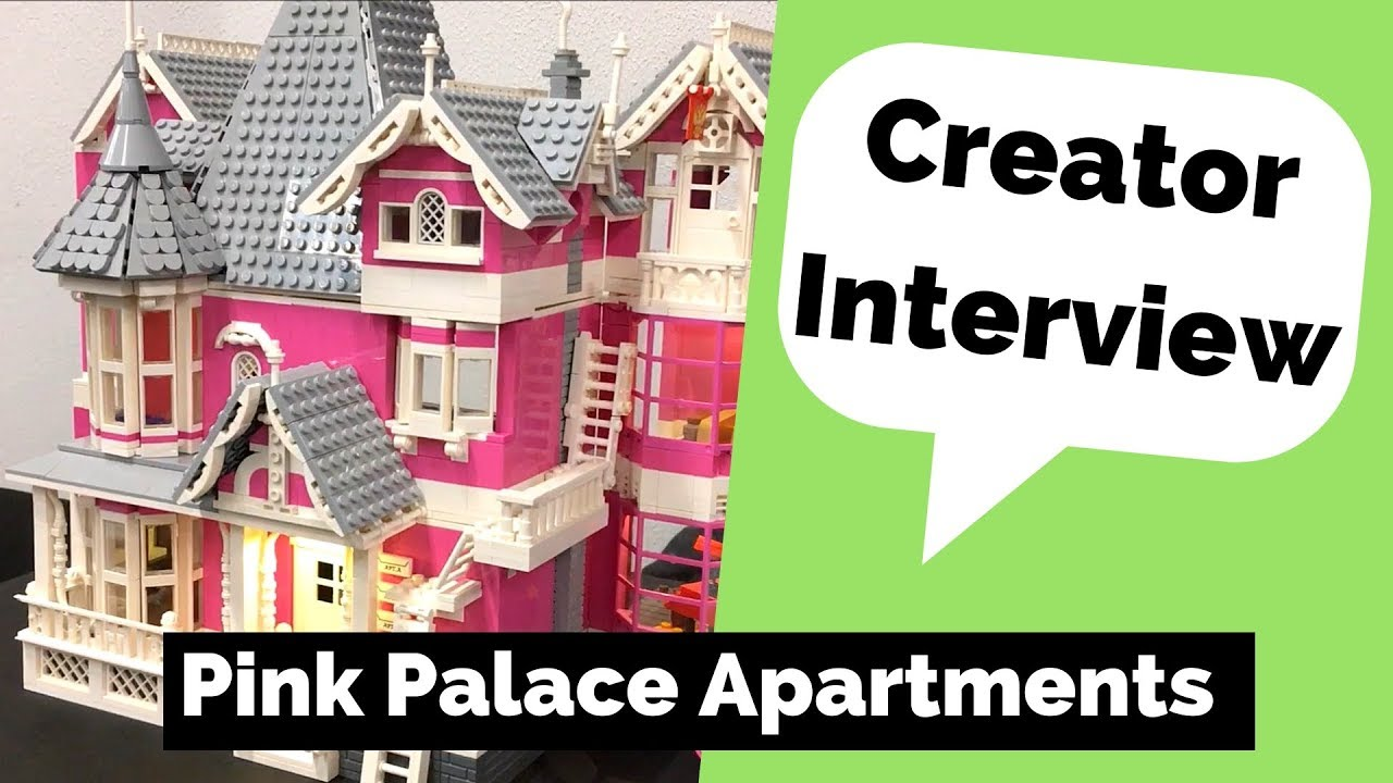 Coraline Lego Pink Palace Apartments Creator Interview Youtube