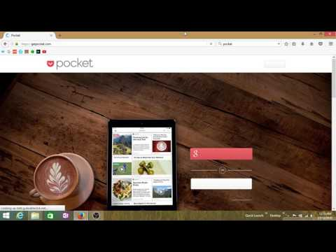 How To Use Pocket In Mozilla Firefox