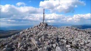 видео Достопримечательности Крыма: Горный хребет Ай-Петри