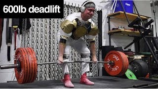 THE WHITE RANGER: Resurrection (600lb Deadlift)